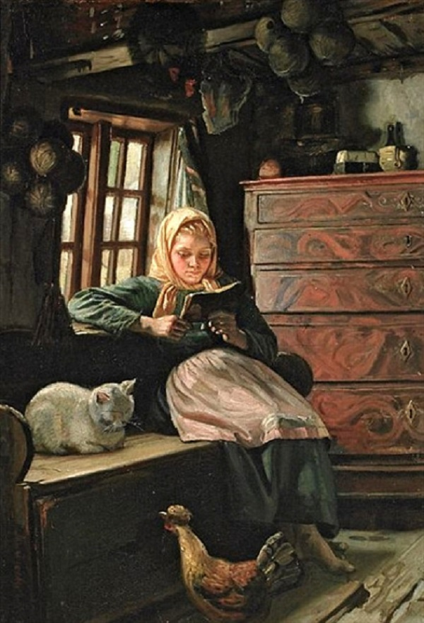 sunday-afternoon-interior-with-a-girl-reading