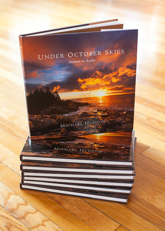Under October Skies finished book