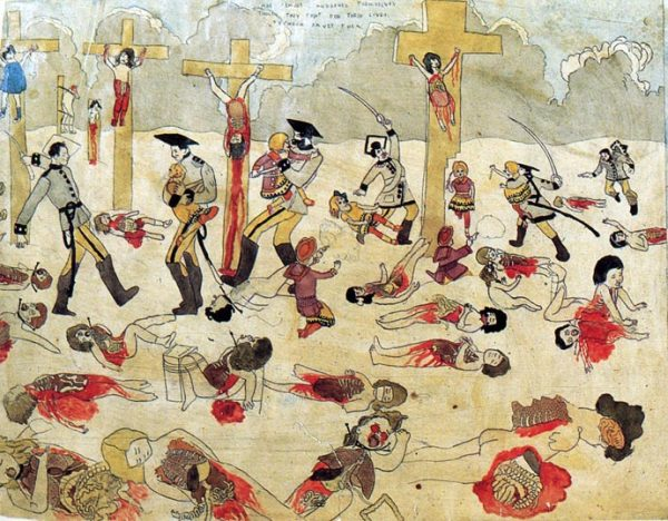 The Story of the Vivian Girls by Henry Darger